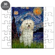 Poodle (13W) - Starry Night (Vert).png Puzzle