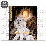 Queen / Std Poodle(w) Puzzle