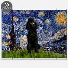 5.5x7.5-Starry-Pood-Blk-Paris.PNG Puzzle
