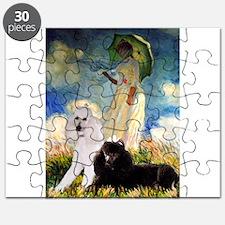 5x7-Umbrella-2Poodles.PNG Puzzle