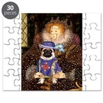 Queen-Sir Pug (17) Puzzle