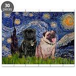 5x7-Starry-PugPair.png Puzzle