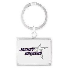 JB Stacked Star Logo Landscape Keychain