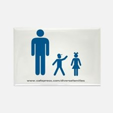 Iconic Imagery Rectangle Magnet