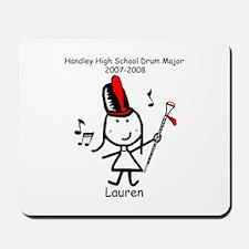 Drum Major - Lauren Mousepad