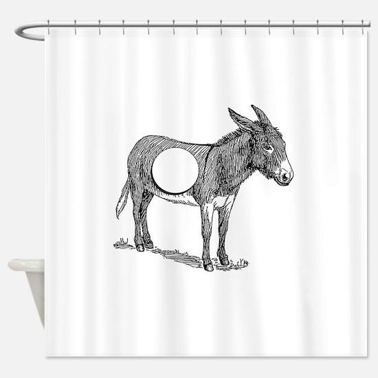 Asshole Shower Curtain