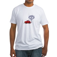 Skull from Car Smoke Shirt