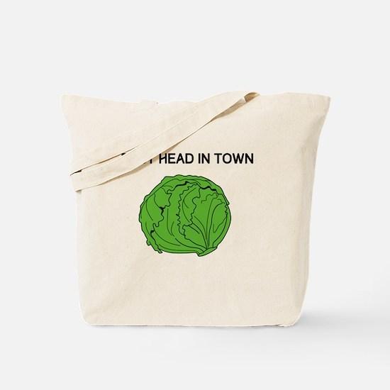 Best Head In Town Tote Bag
