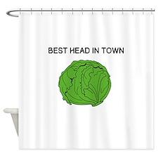 Best Head In Town Shower Curtain