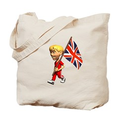 British Boy Tote Bag