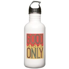 Good Vibes Only Color Sports Water Bottle