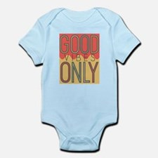 Good Vibes Only Color Infant Bodysuit