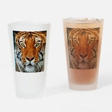 Tiger in Water Photograph Drinking Glass