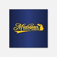 Michigan State of Mine Sticker