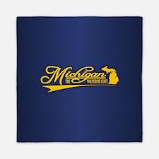 Michigan State of Mine Queen Duvet