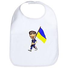 Ukraine Boy Bib