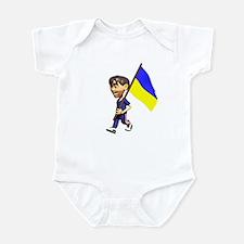 Ukraine Boy Infant Bodysuit