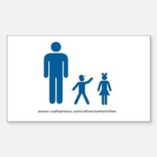 Iconic Imagery Rectangle Decal