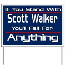 Can't Stand Walker Yard Sign