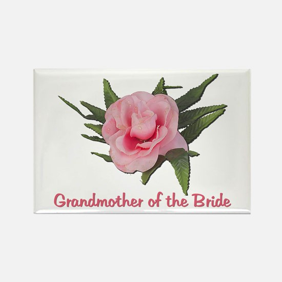 Grandmother of the Bride Rectangle Magnet