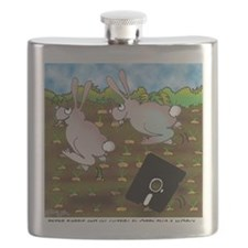 Rabbit Cartoon 8724 Flask