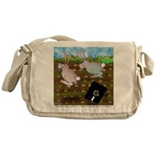 Rabbit Cartoon 8724 Messenger Bag