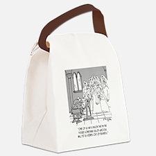 eBook Cartoon 8422 Canvas Lunch Bag