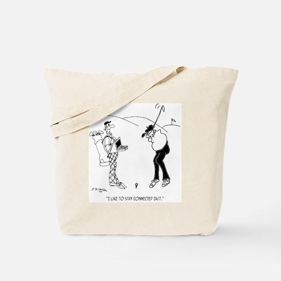 Golf Cartoon 8335 Tote Bag