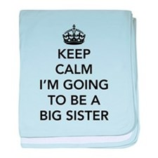 Keep calm I'm going to be a big brother baby blank