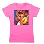 Rat Terrier - Mandolin Angel.png Girl's Tee