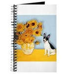 Rat Terrier - Sunflowers.png Journal