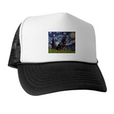 5x7-Starrynight-Rottie6.png Trucker Hat