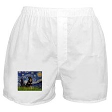 8x10-Starry-Rottie5.PNG Boxer Shorts