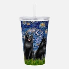 Schipperkees (two,5&6) - Starry Night.png Acrylic