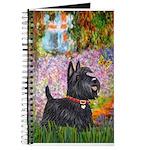 Garden-Scottish Terrier Journal