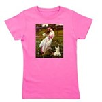 Windflowers / Scottie (w) Girl's Tee