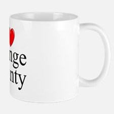 """I Love Orange County"" Mug"
