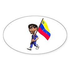 Venezuela Boy Oval Decal