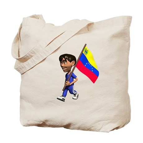 Venezuela Boy Tote Bag