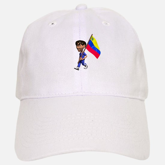 Venezuela Boy Baseball Baseball Cap