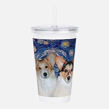 5x7-Starry-CorgiPairheads.png Acrylic Double-wall