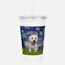 Starry - Westie (P) Acrylic Double-wall Tumbler