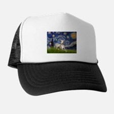 5.5x7.5-Starry-Whippet2.png Trucker Hat