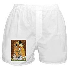 KISS/PBGV8+Westie1 Boxer Shorts