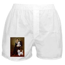 Lincoln-2Westies Boxer Shorts