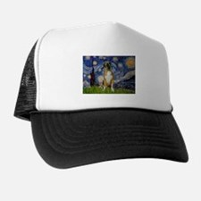 2 Diff designs-Front/Back Trucker Hat