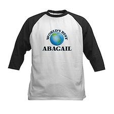 World's Best Abagail Baseball Jersey