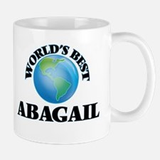 World's Best Abagail Mugs