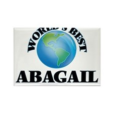 World's Best Abagail Magnets