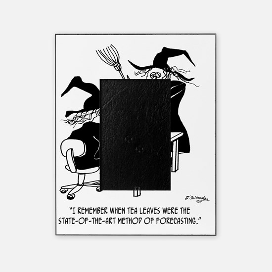 Witch Cartoon 4864 Picture Frame